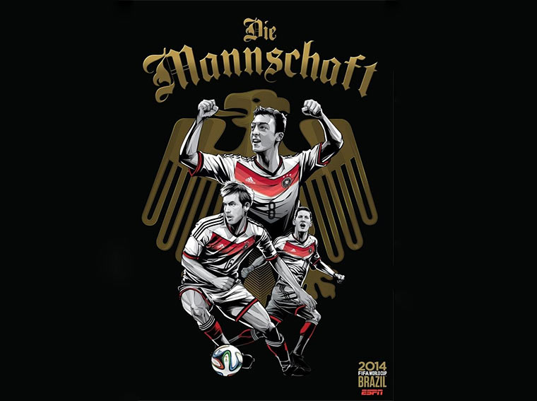 Design-Poster der WM-Teams ESPN_Worldcup-posters_01