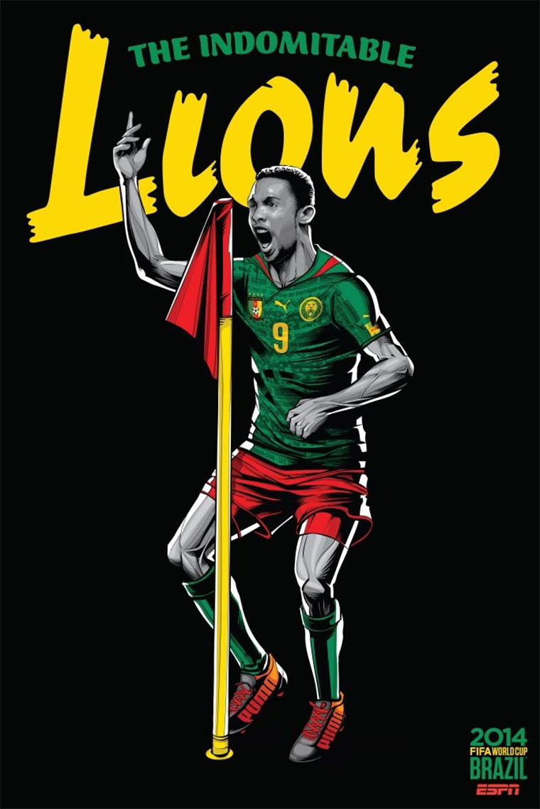 Design-Poster der WM-Teams ESPN_Worldcup-posters_04