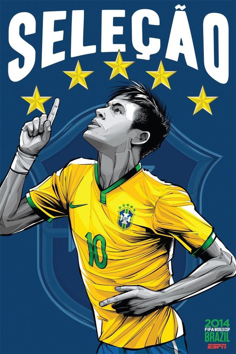Design-Poster der WM-Teams ESPN_Worldcup-posters_05