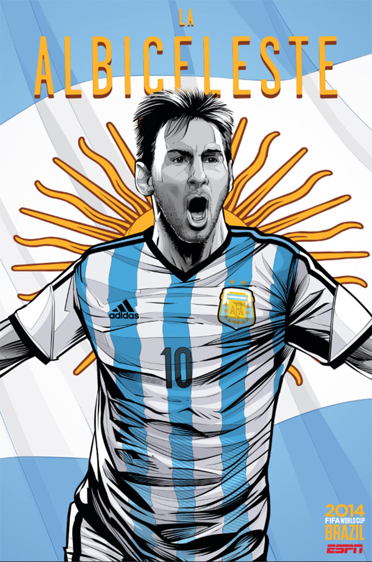Design-Poster der WM-Teams ESPN_Worldcup-posters_07