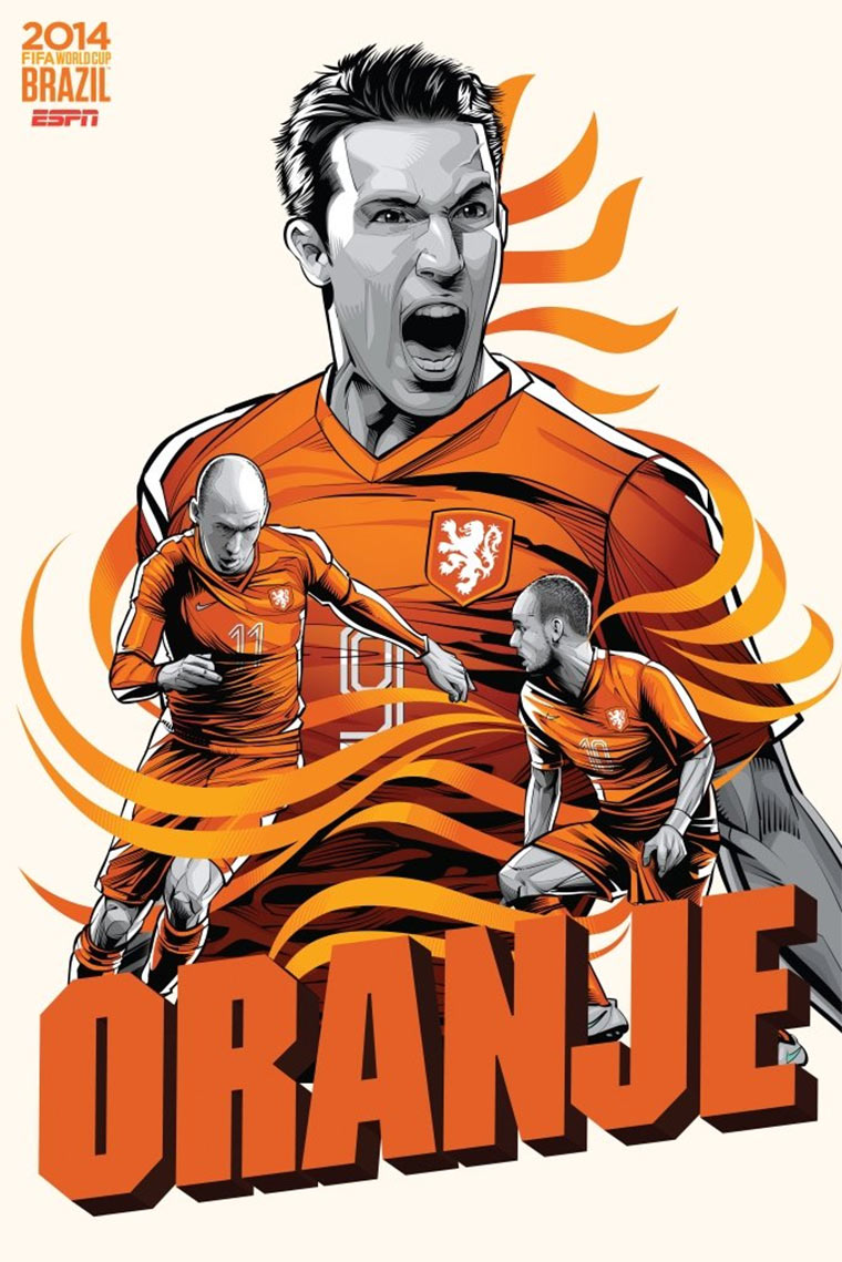 Design-Poster der WM-Teams ESPN_Worldcup-posters_11