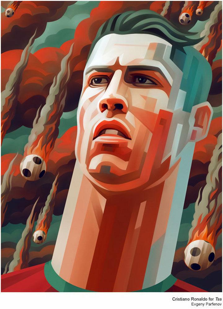 bunte Illustration: Promi-Portraits von Evgeny Parfenov Evgeny_Parfenov_04