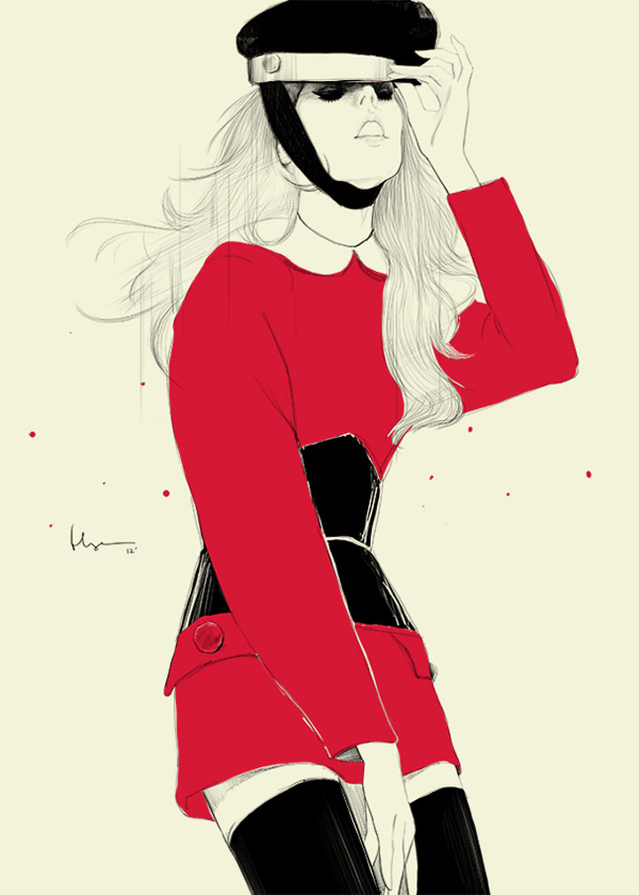 Fashion Illustration: Floyd Grey Floyd_Grey_02