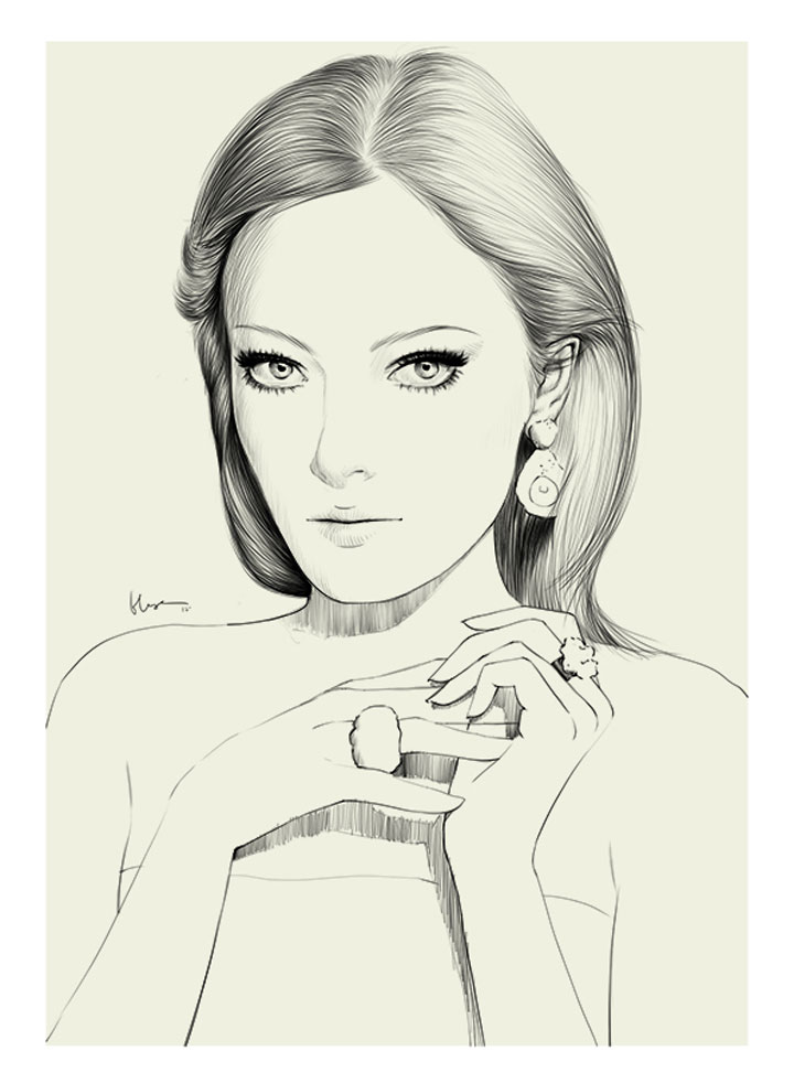 Fashion Illustration: Floyd Grey Floyd_Grey_03