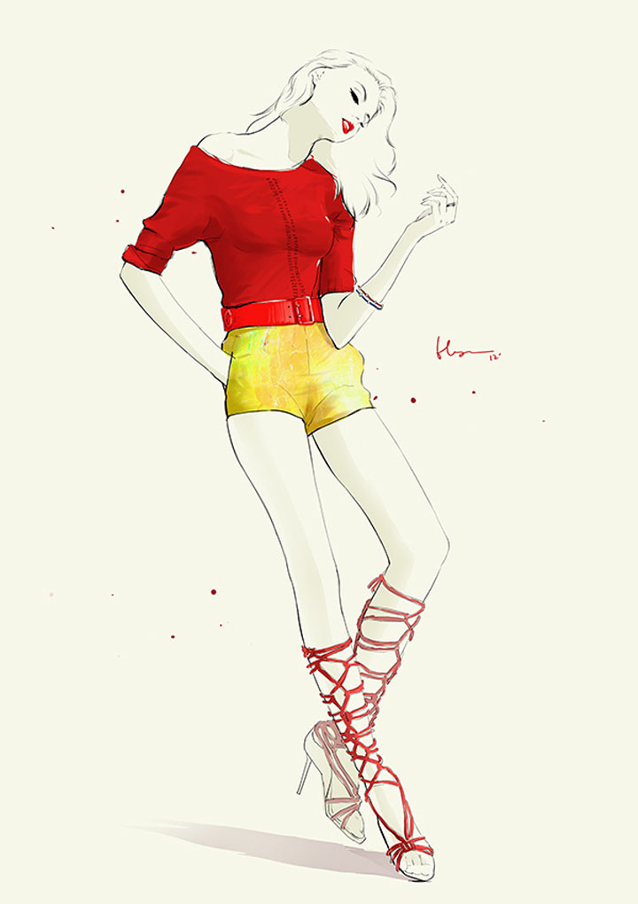 Fashion Illustration: Floyd Grey Floyd_Grey_05