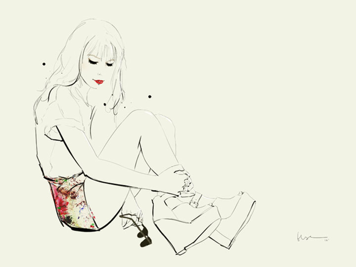 Fashion Illustration: Floyd Grey Floyd_Grey_08