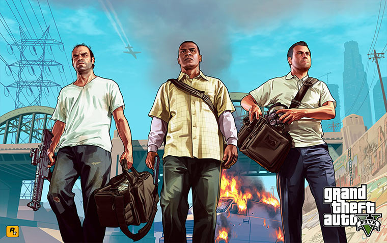 GTA V Artworks GTA-V_artwork_04