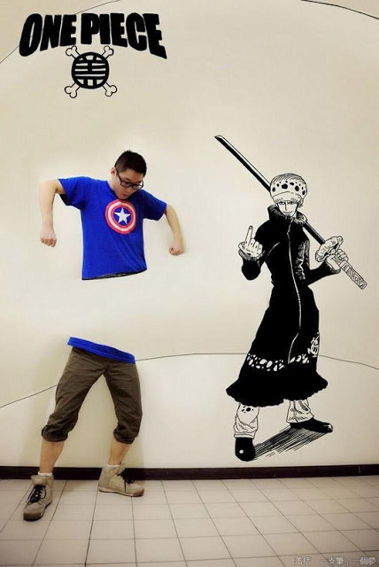 Illustration: Manga-Anime-Interaktion mit Gaikuo Captain Gakiu_Captain_04
