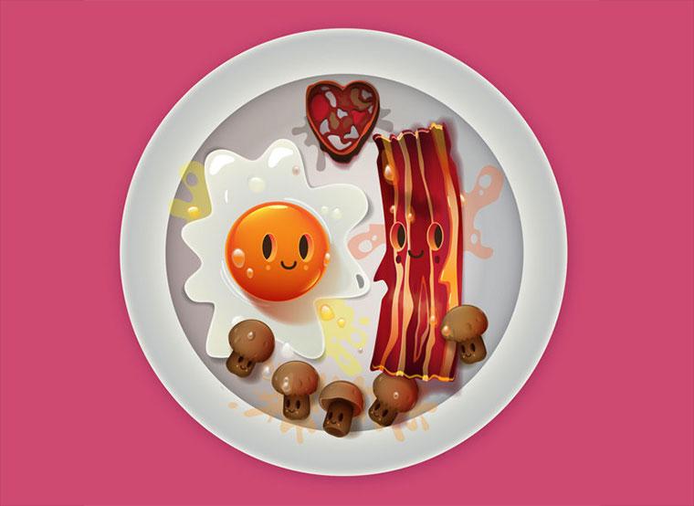 Glückliche Mahlzeiten: I love food! I_love_food_01