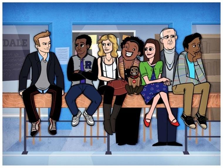 TV-Serien und Filme als Cartoons