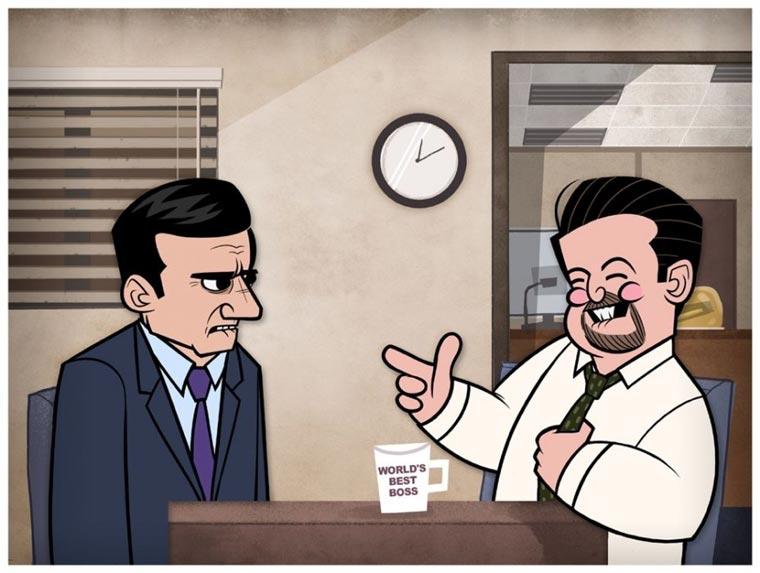 TV-Serien und Filme als Cartoons Jublin_09
