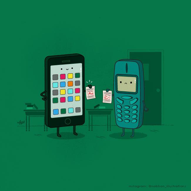 humorvolle Illustrationen: Nabhan Abdullatif NaBHaN_08