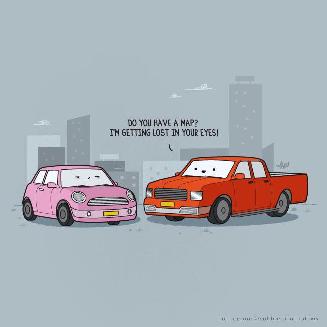 humorvolle Illustrationen: Nabhan Abdullatif NaBHaN_11