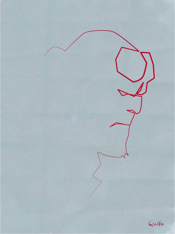 Zeichnungen aus einer einzigen Linie One_Line_Drawings_04