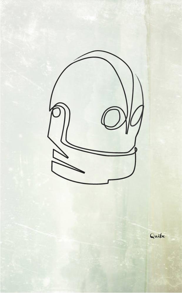 Zeichnungen aus einer einzigen Linie One_Line_Drawings_05