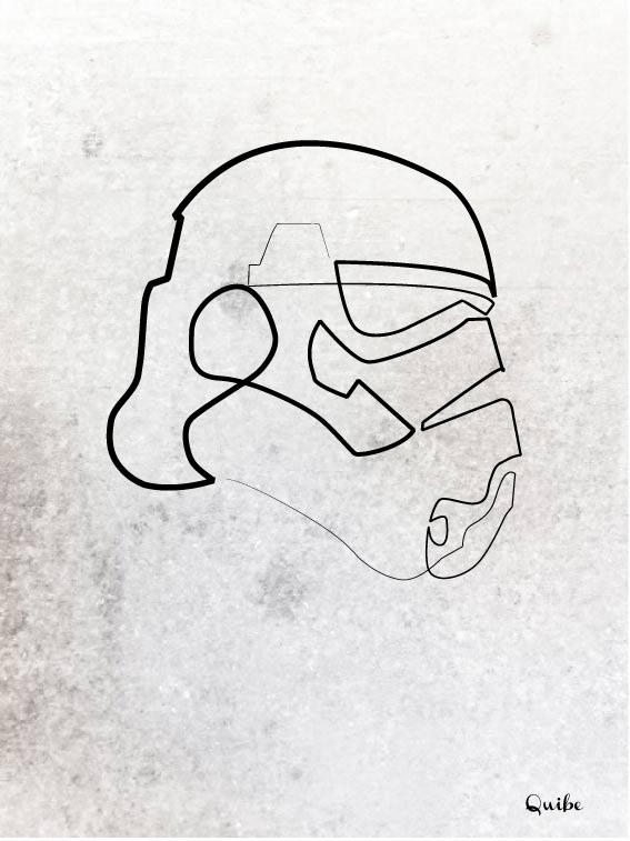 Zeichnungen aus einer einzigen Linie One_Line_Drawings_07
