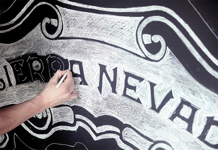 Kreideillustration im Brauhaus Sierra-Nevada-Brewerie_shalk_05