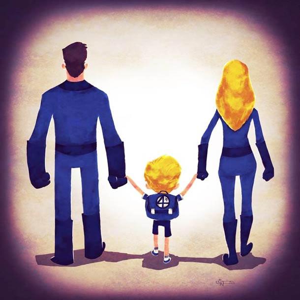 Sweet: Superheldenfamilien Superhero_Families_07