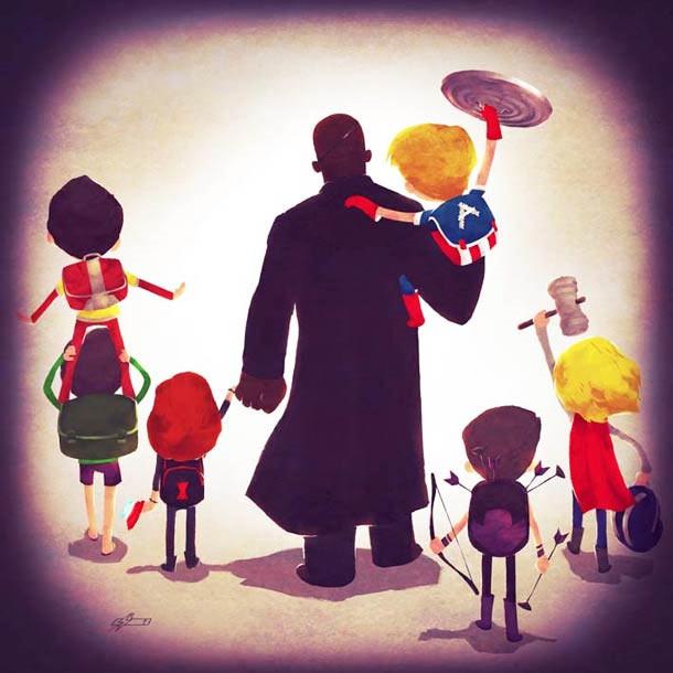 Sweet: Superheldenfamilien Superhero_Families_08
