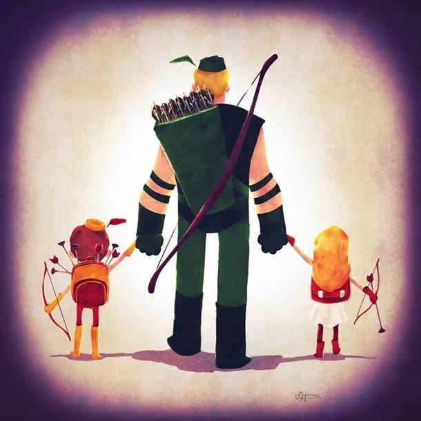 Sweet: Superheldenfamilien Superhero_Families_09