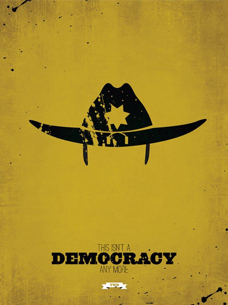 The Walking Dead: Minimalistische Poster TWD_minimalistic_posters_01