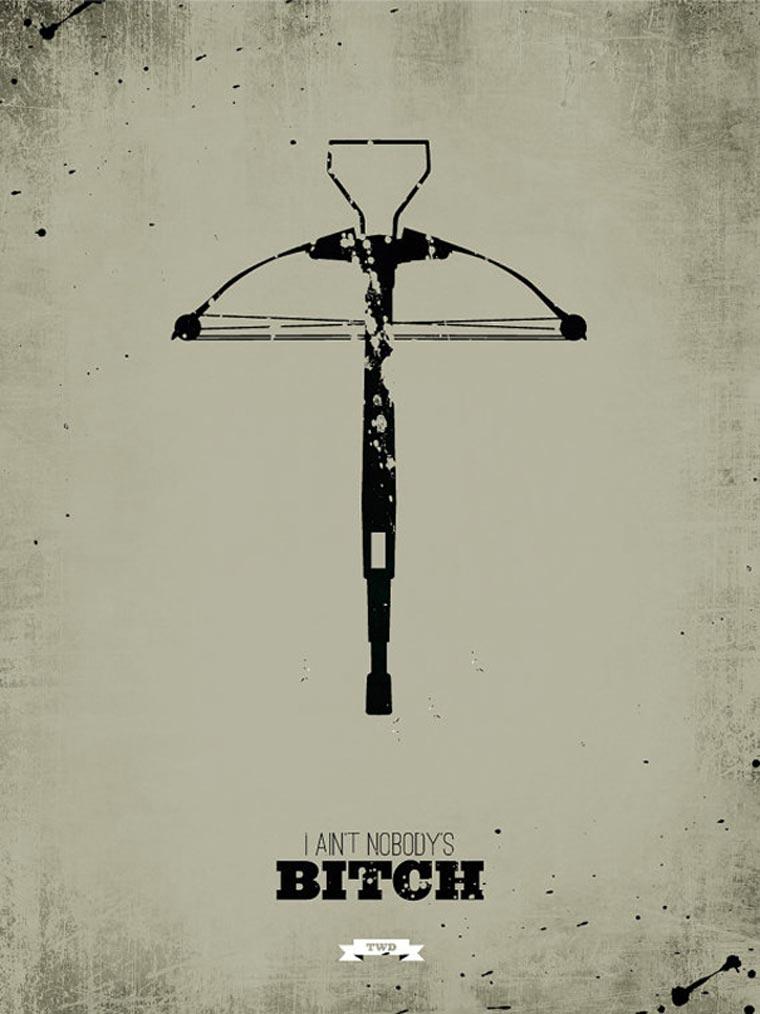 The Walking Dead: Minimalistische Poster TWD_minimalistic_posters_02