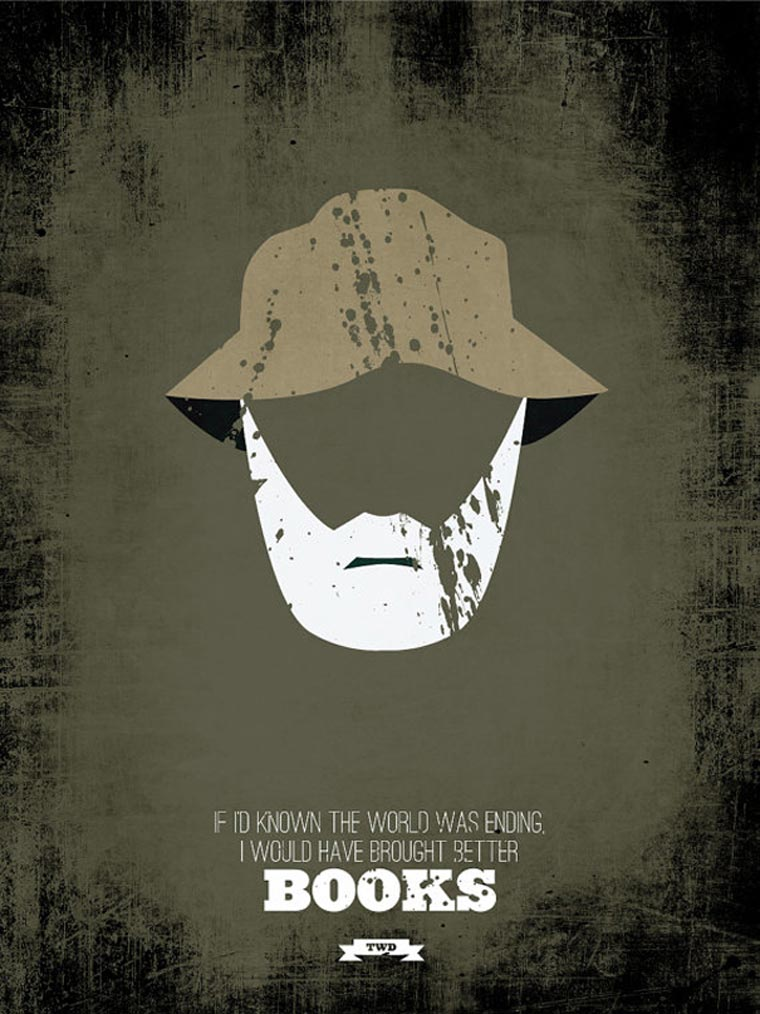 The Walking Dead: Minimalistische Poster TWD_minimalistic_posters_05