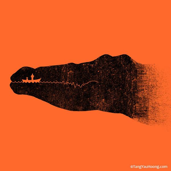 kreative Illustrationen mit Doppelmotiv The-Art-of-negative-space_03
