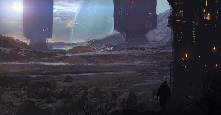 Digital Paintings: Victor Mosquera