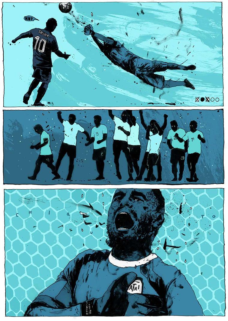 Illustrierte Momente der WM 2014 WorldCup-2014_Simon-Prades_02