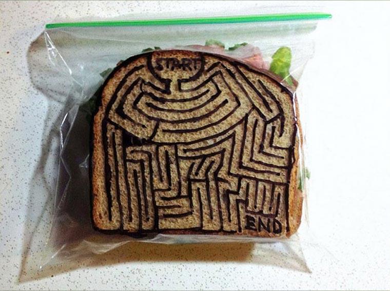 Vater bemalt täglich Sandwichtüten der Kinder dads_sandwich-bags_05