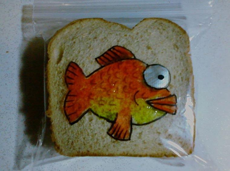 Vater bemalt täglich Sandwichtüten der Kinder dads_sandwich-bags_09