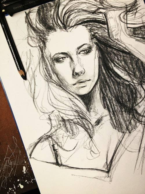 Illustration & Timelapse: Elfan elfandiary_dailytimelapse_02