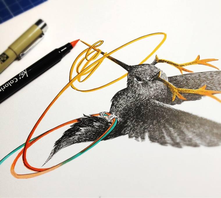 Illustration & Timelapse: Elfan elfandiary_dailytimelapse_05