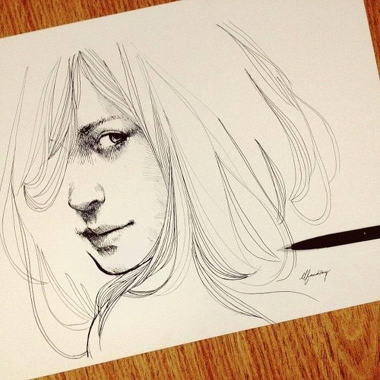 Illustration & Timelapse: Elfan elfandiary_dailytimelapse_06