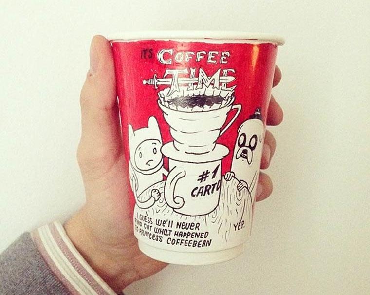 Kaffeebecher-Illustrationen luftaffe_01