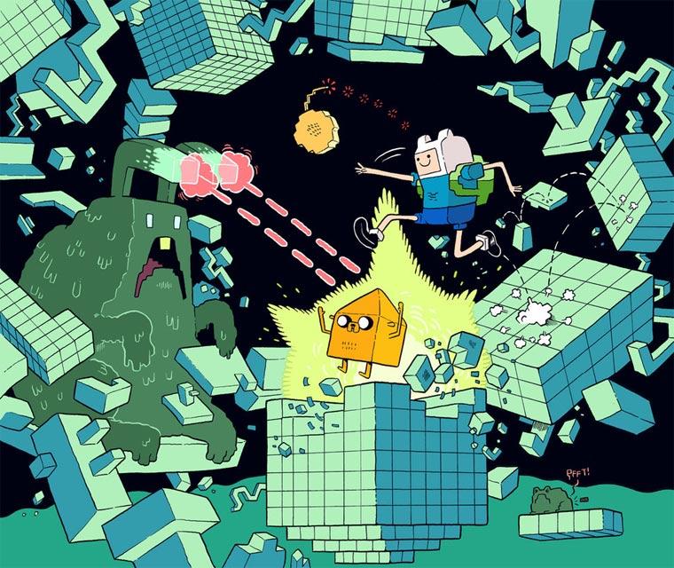 Illustration: Mr Dynamite mr_dynamite_11