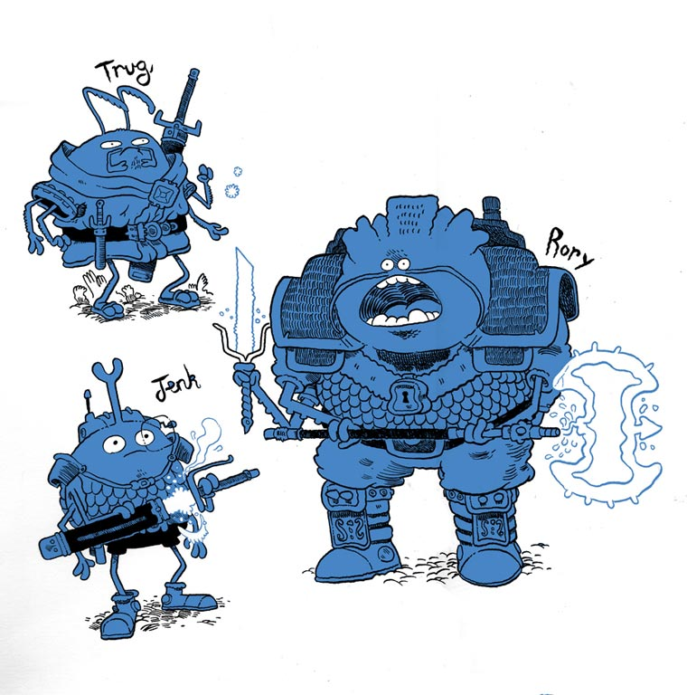 Illustration: Mr Dynamite mr_dynamite_12
