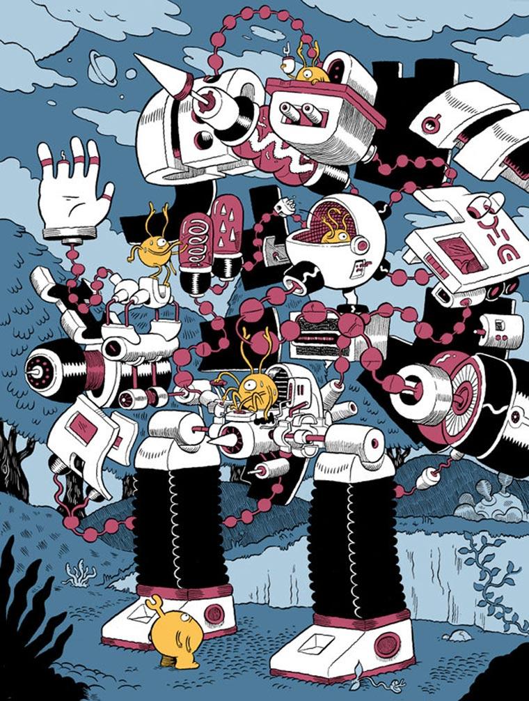 Illustration: Mr Dynamite mr_dynamite_13