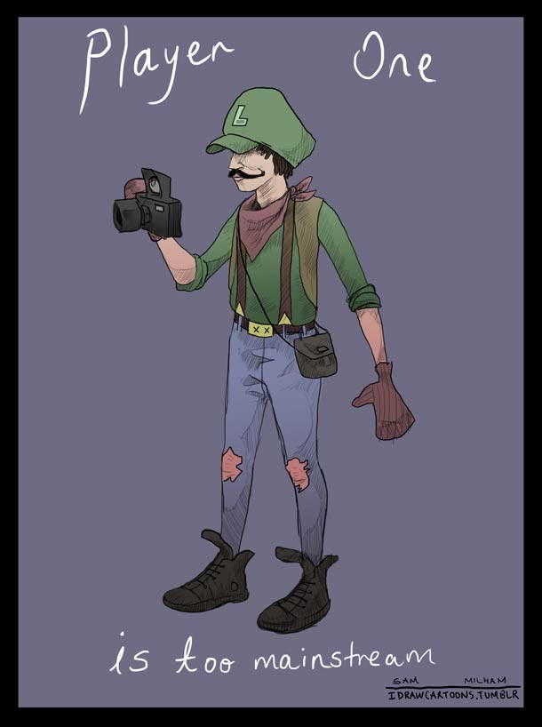 Super Mario Bros. Hipster super_mario_hipsters_02