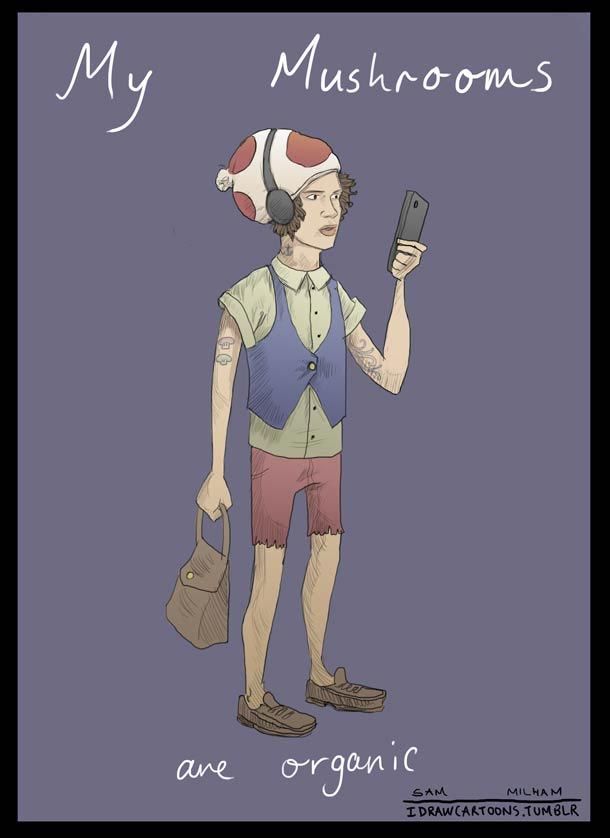 Super Mario Bros. Hipster super_mario_hipsters_05