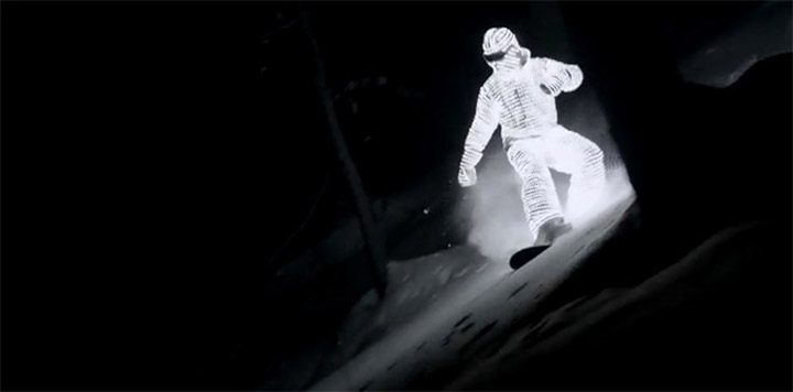 LED Snowboarder LED_snowboarder