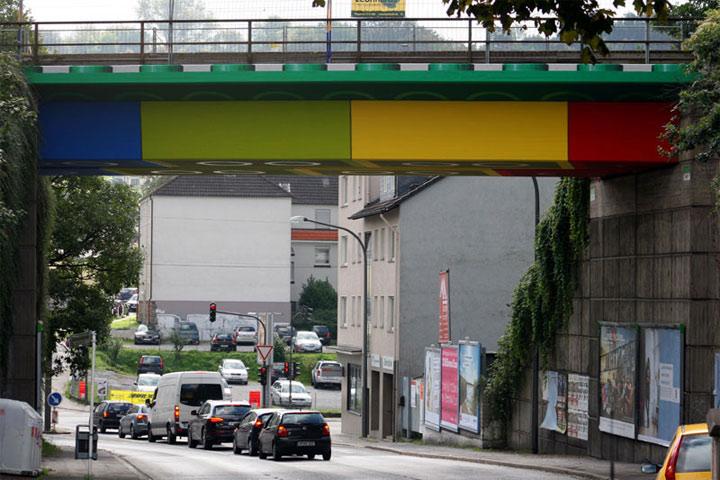 LEGO-Verkehrsbrücke LEGO_Bruecke_01