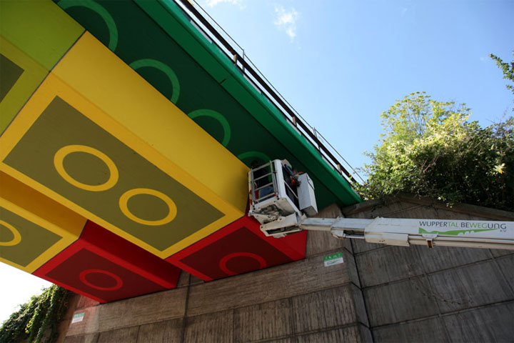 LEGO-Verkehrsbrücke LEGO_Bruecke_05