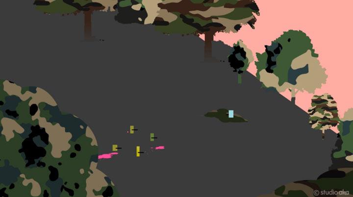 Lustige Animation: LOVE Paintballing