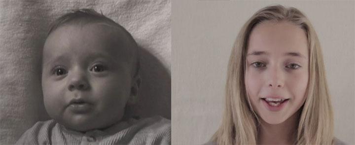 Timelapse: Die ersten 12 Lebensjahre in 2:45