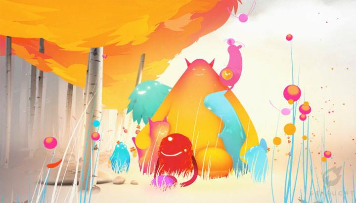 Animation: MTV Group Hug & Chameleon