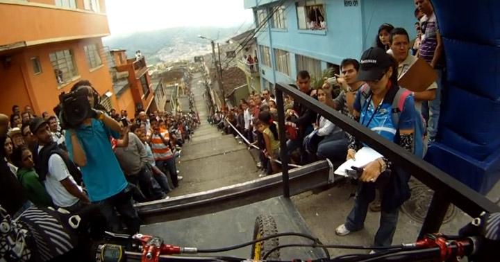 Urban Downhill: Marcelo Gutierrez Manizales_bikedown