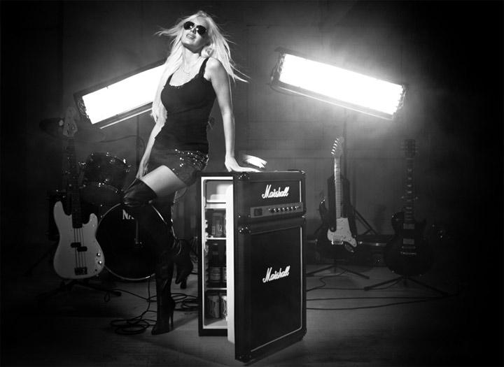 Der Marshall-Verstärker-Kühlschrank Marshall_cooler_01