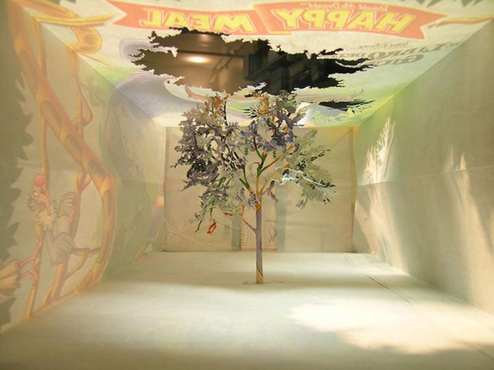 Art: Ein Baum aus einer McDonalds-Tüte McDonalds_bag_tree_06